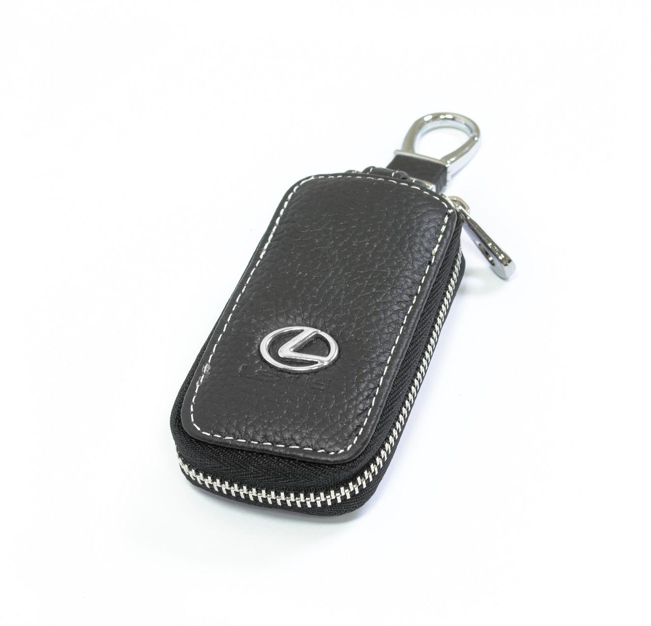 Ключница Carss с логотипом LEXUS 13010 черная