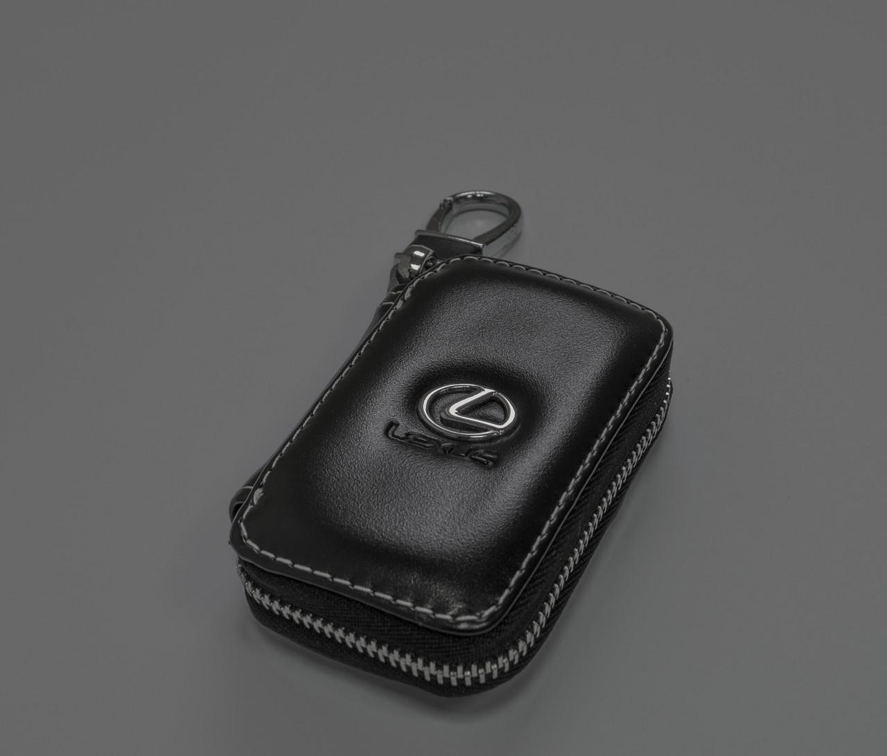 Ключница Carss с логотипом LEXUS 13011 черная