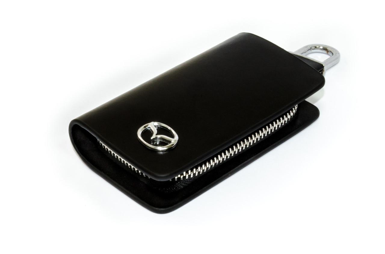 Ключница Carss с логотипом MAZDA 16002 черная