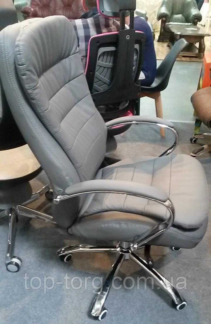 Крісло офісне, комп'ютерне Murano grey, сірий колір