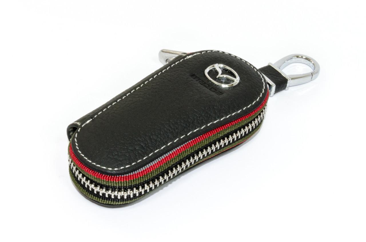 Ключница Carss с логотипом MAZDA 16005 черная
