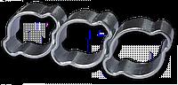 Хомут зажимной с двумя ушками 17-20мм / 9мм, OZ1720