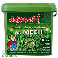 Agrecol Удобрение для газонов - от мха Agrecol 5 кг