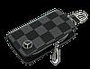 Ключница Carss с логотипом MERCEDES 02013 карбон серый, фото 3
