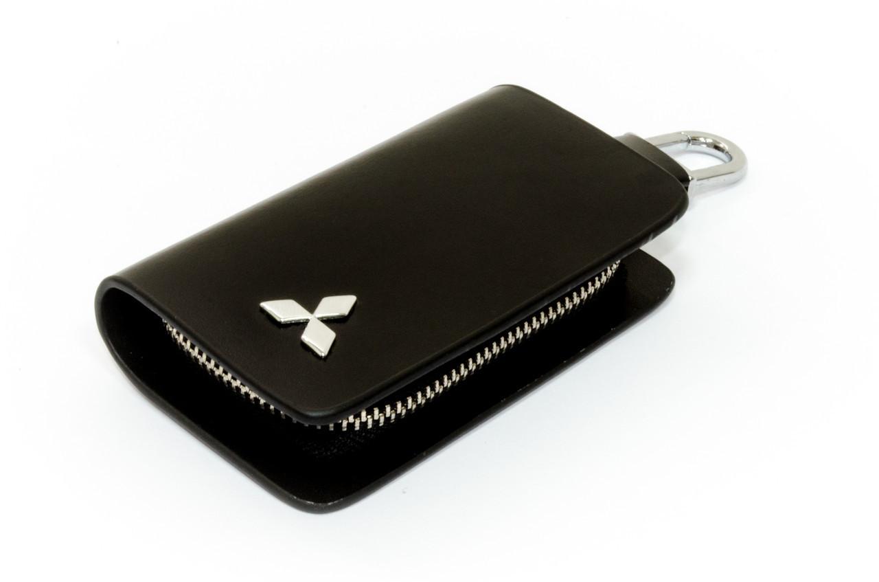 Ключница Carss с логотипом MITSUBISHI 11002 черная