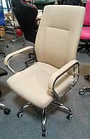 Кресло офисное, компьютерное Marble beige, бежевое