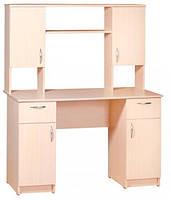 Большой письменный стол Вектор. Стол для школьника и домашнего кабинета