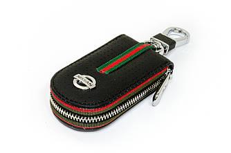 Ключница Carss с логотипом NISSAN 09007 черная