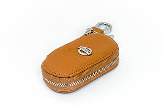 Ключница Carss с логотипом NISSAN 09001 коричневая