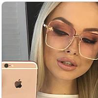 Gucci женские солнцезащитные очки 2019 Гуччи цвет розовый, фото 1