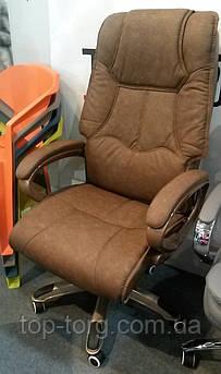 Крісло офісне, комп'ютерне Corvus, коричневе