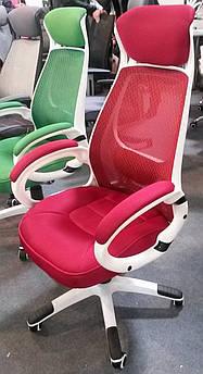 Крісло офісне, комп'ютерне Briz red, червоний