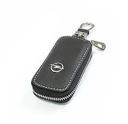 Ключница Carss с логотипом OPEL 18010 черная