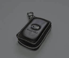Ключница Carss с логотипом SUBARU 21011 черная