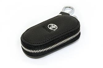 Ключница Carss с логотипом TOYOTA 07003 черная
