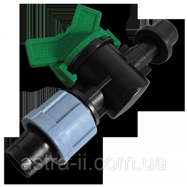 Старт-Коннектор лента/ трубка с прокладкой и миникраном, DSTZ03-1708L