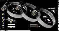 Хомут червячный нержавеющий RIO VERDE W2 50-70мм, RVW2 50-70/9