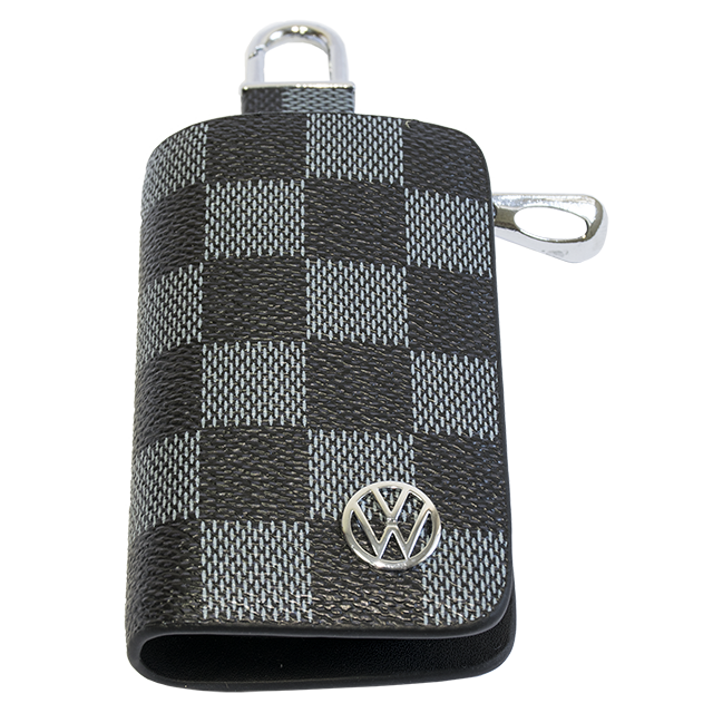 Ключница Carss с логотипом VOLKSWAGEN 04013 карбон серый