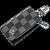 Ключница Carss с логотипом VOLKSWAGEN 04013 карбон серый, фото 2