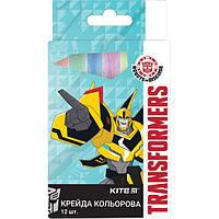 "Мел цветной Kite TF17-075 ""Transformers"", 12 шт. (Y)"