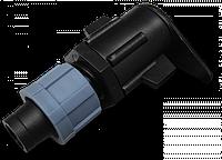 Старт-Коннектор на плоский шланг, длинный, DSTA11-03L