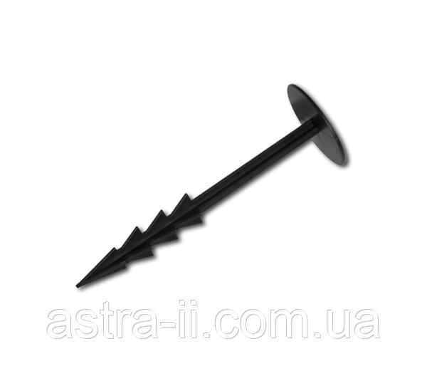 Штифт прямой для крепления агроткани 18см, ATSU18+