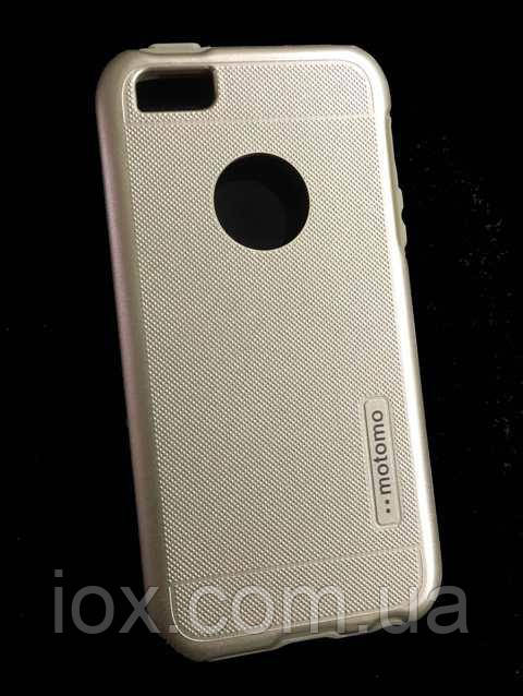 Противоударный пластиковый чехол Motomo для iPhone 5/5S
