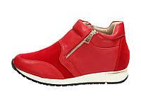 Красные женские кроссовки 160067 40