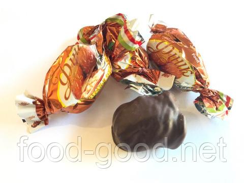 Финики с грецким орехом в шоколаде, 1кг