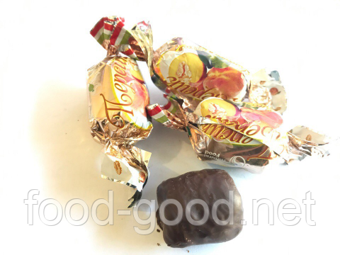 Персик в шоколаде с грецким орехом, 1кг, фото 2