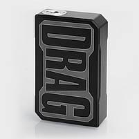 Бокс Мод VOOPOO Black Drag Resin 157W TC Box Original Mod, фото 3