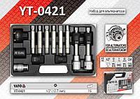 "Набор ключей для альтернатора 1/2"" - 13шт, YATO YT-0421"