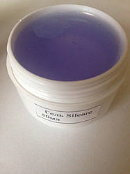 Гель Silcare прозорий Base one violet, 15мл
