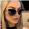 FENDI женские брендовые очки 2019,цвет чёрный
