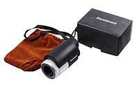Монокуляр 8x25 - Bushnell, компактный и обеспечивает качественную картинку