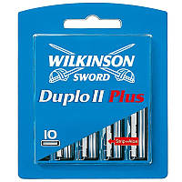 Сменные лезвия Wilkinson Duplo 2 Plus, в упаковке 10 шт