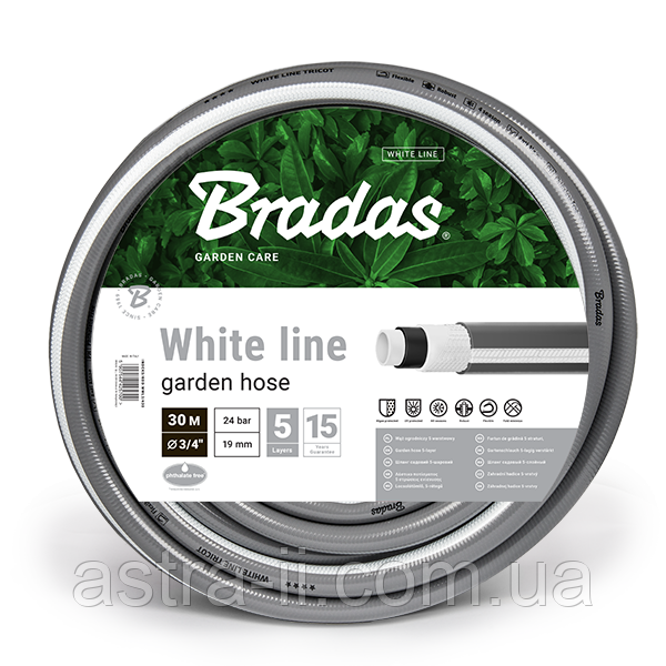 "Шланг для полива WHITE LINE NEW 3/4"" 30м, WWL3/430"