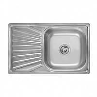 Глубокая мойка для кухни TRION 6642 Гладкая 0.8 mm