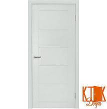 Межкомнатные двери Нордика 161  ПГ  (белая эмаль)