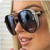Солнцезащитные очки8 JimmyChoo коричневые