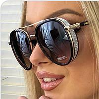 Солнцезащитные очки8 JimmyChoo коричневые, фото 1
