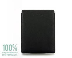 Кожаный чехол для iPad черный Рoolparty