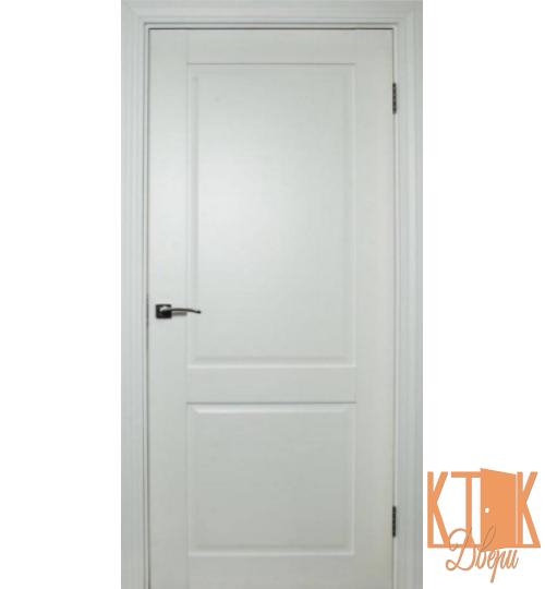 Межкомнатные двери Нордика 140  ПГ  (белая эмаль)
