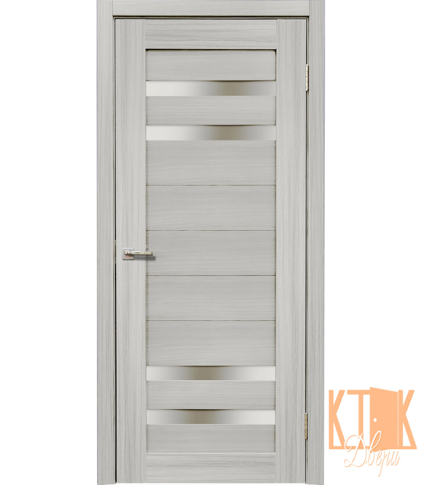 Межкомнатные двери Мастер 636 ПО (сандал серый)