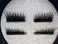 Ресницы на магнитах накладные уголки на 2 магнита норка