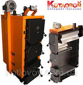 Твердотопливный котел длительного горения Донтерм ДТМ Турбо  17 кВт