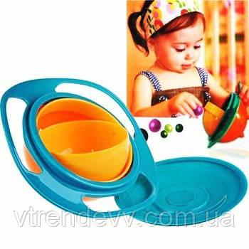 Тарелка непроливайка baby bowl