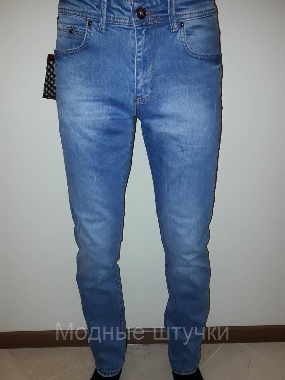 414193797e7 Джинсы мужские светлые Redmond 082 - Модные штучки в Николаеве