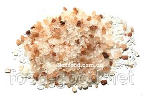 Соль розовая крупная, 100г