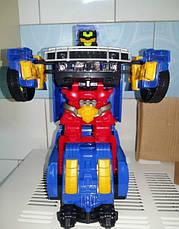 Музыкальный светящийся трансформер Warrior The Racing Pro SBWE, фото 2